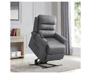 Copper Groves Gerards Slate Power Recline And Lift Chair