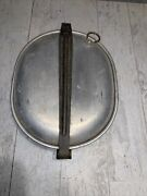 Original Ww1 Wwi Us Army Military Aef Mess Kit 1918 Dated Plate And Pan Only