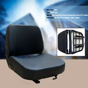 Universal Lawn Mower Seat With Sliding Track Tractor Forklift Seat Waterproof Us