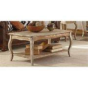 Bolton Furniture Arsa1125 Rustic Reclaimed Coffee Table Driftwood