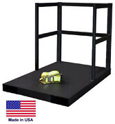 Cylinder Stand Pallet For Propane Welding Gases Compressed Air - 12 Tank Cap