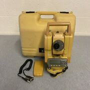 Topcon Gts 229 9 Total Station W/ Case And Two Batteries