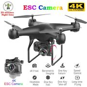 Sky Pro Drone 4drc-v2 Selfie Wifi Fpv With Hd Camera Foldable Arm Rc Quadcopter