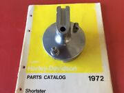 Harley Aermacchi Mc-65 Shortster And X-90 Front Brake Hub Side Plate With Brakes