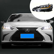 Led Headlight Assembly For Lexus Es 2018-2021 Led Drl Sequential Turn Signal