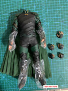 Hot Toys Ht 1/6 Scale Loki Action Figure Body Outfits Thor Ragnarok 12in. Mms472