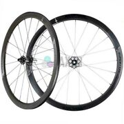 Miche Wheelset Supertype 440 Rc Clincher White Shimano Bike Bicycle Pair