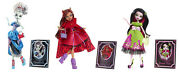Monster High_scarily Ever After Exclusives Frankie Stein -draculaura -clawdeen