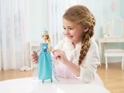 Disney Frozen Musical Magic Elsa Doll, New In Box,lights Up And Plays Music