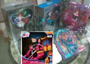 Lot Of 6 Winx Club Blooms Dolls Sdcc 2012 Silver And Blue Exclusive Pink Enchantix