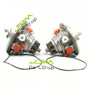 Front Rear K0cg Twin Turbo Cartridge For 2010-12 Ford F150 Trucks 3.5l Cores New