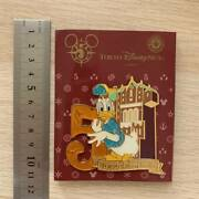 Tokyo Disney Sea 5th Anniversary Donald Duck Official Pin Badge 1pc Limited