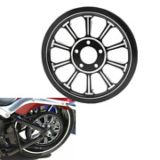 Rear Wheel Belt Pulley Sprocket Fit For Harley Touring Road Glide Non Abs 08-21