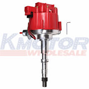 Red Hei Distributor W/ 65k Coil For Amc/jeep 290,304,343,360,390,401 1967-1990