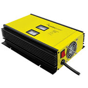 Samlex 80a Battery Charger - 12v - 2-bank - 3-stage W/dip Switch Andamp Lugs -...
