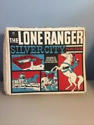 Vintage The Lone Ranger Silver City Play-case As Pictured