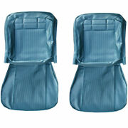 Pui New Front Seat Upholstery Covers Fits 1962 Chevrolet Impala