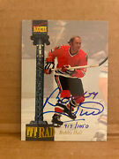 1993 Signature Rookie Bobby Hull Autograph 917 / 1050 - Mint