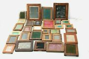 Huge Lot 30x Antique Contact Printing Picture Framesjay-naykodakprimusensign