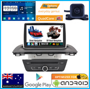 Android Gps Car Navigation Bluetooth Radio Stereo Player W/cam For Mazda 3 Bmw