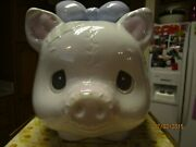 Andnbspprecious Moments Piggy Bank 1994 Enesco Collection 135569 One Of A Kind Rare