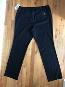 Women's Black Stretch Straight High Rise Jeans Plus Size 16w