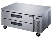 New 48 Refrigerated Chef Base 2 Drawer Equipment Stand Dukers Dcb48-d2 6289