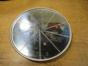 Fine Grating Disc Wfp143 5/64 2mm For Waring Commercial Food Processor Wfp14s