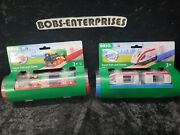 Brio Lot Of 2 X Travel Train And Tunnel Steam Train And Tunnel Awesome 2-trains