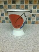 Villeroy And Boch Luxembourg Cone Shaped Footed Dish Or Beaker