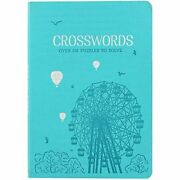 Hinkler Books Faux Leather Crossword Puzzles Good