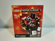 2013 Lego Minecraft 21106 Micro World The Nether - 100 Complete