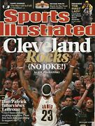2009 Sports Illustrated Si Subscription Copy Back Issue Lebron James Cavaliers