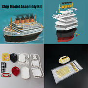 Ship Model Assembly Kits Wooden Deck For Moe-001 Titanic Royal Cruise Q Edition