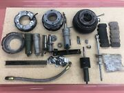 Bell 47 Helicopter Rotor Brake Parts Lot. Some Nos. Andnbsp Andnbsp Andnbsp Andnbsp Andnbsp Andnbsp Andnbsp
