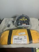 New Pelsue Ph07c Personnel Hoist 310 Rating Clockwise Small W/ 70ft Ss Cable