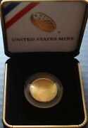 2014-w 5 Baseball Hall Of Fame Gold Five Dollars Proof