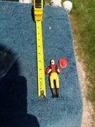 Legends Of The West Action Fireman 1980 Empire Carolina Tarboro Toy Figure Nos
