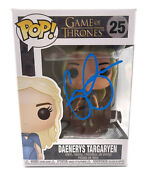 Emilia Clarke Signed Autograph And039game Of Thronesand039 Funko Pop Beckett Bas Got 10