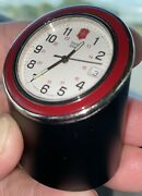 Swiss Army Desk Clock Model 24710 1990's Collector's Item