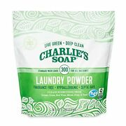 Charlieandrsquos Soap Laundry Powder 300 Loads 1 Pack Fragrance Free Hypoallergenic ...