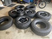 Jeep Rubicon Wheels 17 And Extra Set Of New Tires 285/17r17