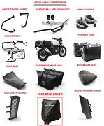 Royal Enfield Accessories Combo Pack With Free Bike Cover For Himalayan