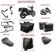 Royal Enfield Accessories Combo Pack Of 7 For Himalayan - With Free Bike Cover