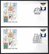 Germany Spain Australia 1986 2006 Religion Collection Of 14 Popes Visit Benedict