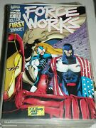 Force Works Lot 1-15-10-11 - Marvel Comics - Pull-out/pop-up Cover 4 Comics