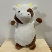 Squishmallows Hug Mees Rare Vhtf Easter Mystery Egg Drella Cow Fuzzy Belly Brown