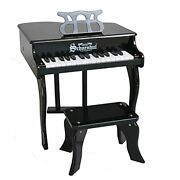 Baby Grand Piano - Child Piano With Bench - Learn To Play Kids Piano Keyboard