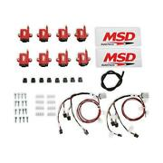Msd 8289-kit Ignition Coils, Smark Coil, Bigwire, Kit, Red