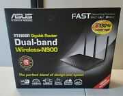 Asus Rt-n66r Dark Knight Double 450mbps Dual Band N Router Used
